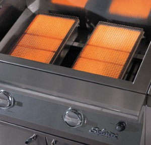 Infrared Burners and Grill